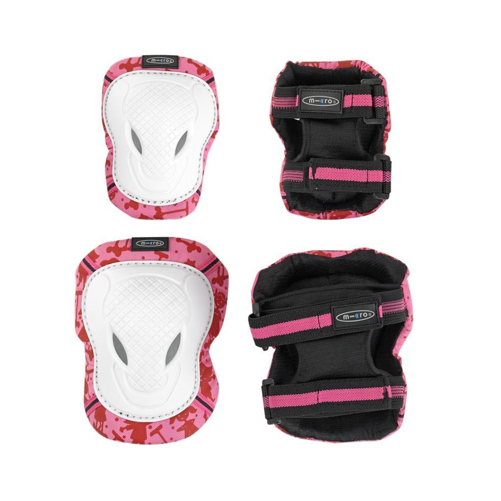 Chrániče Micro Pink-White M