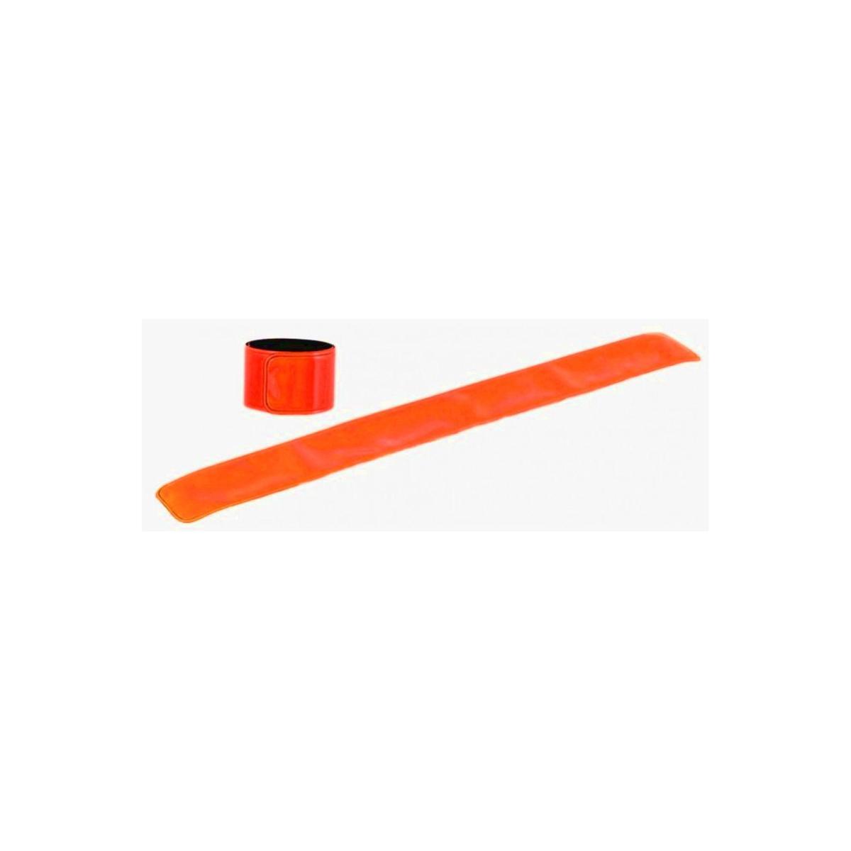 Reflexní páska bez potisku - světle červená