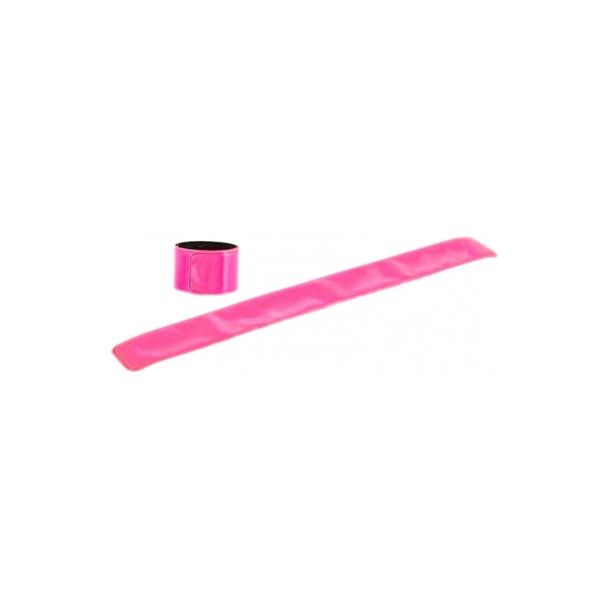 Reflexní páska bez potisku - neon růžová