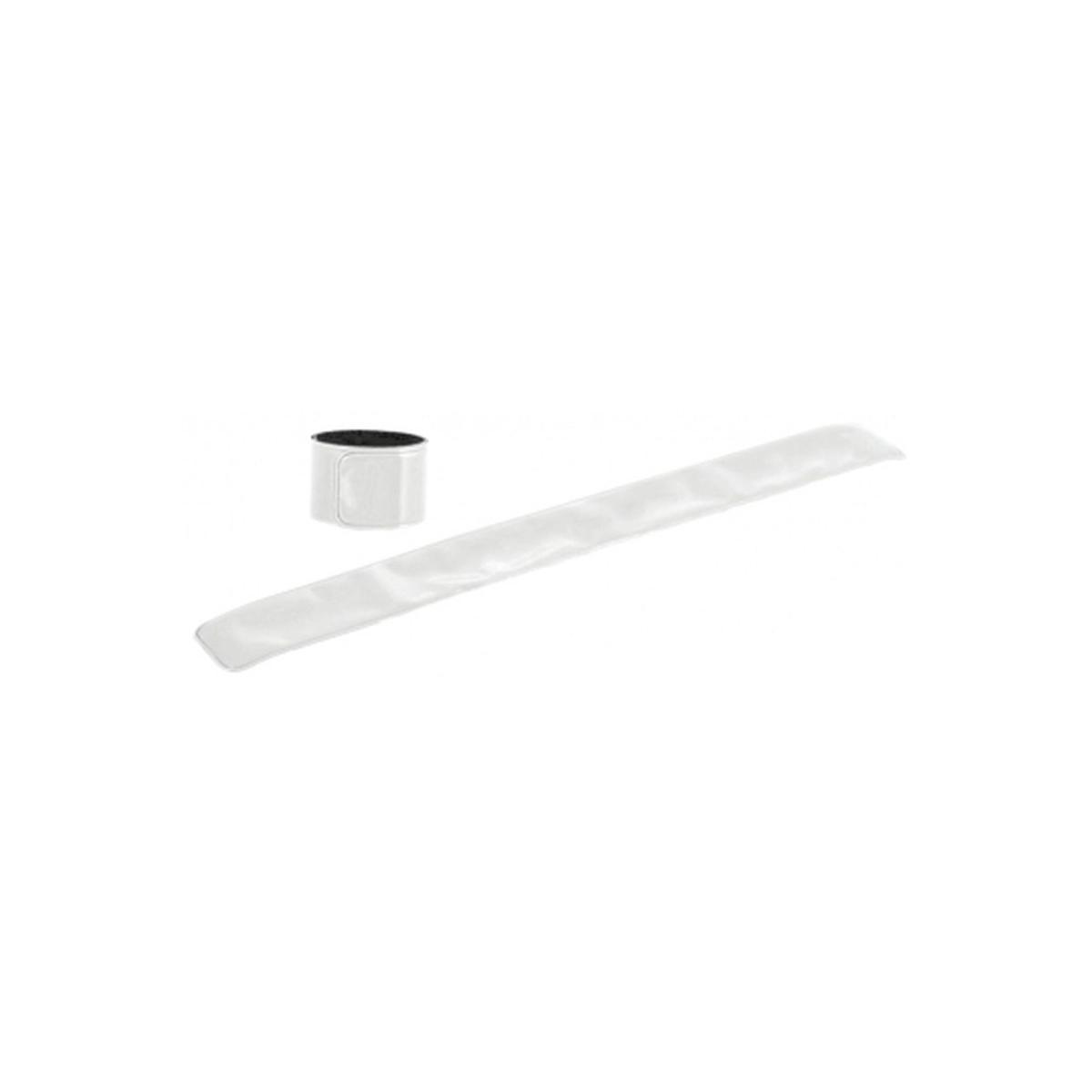 Reflexní páska bez potisku - bílá