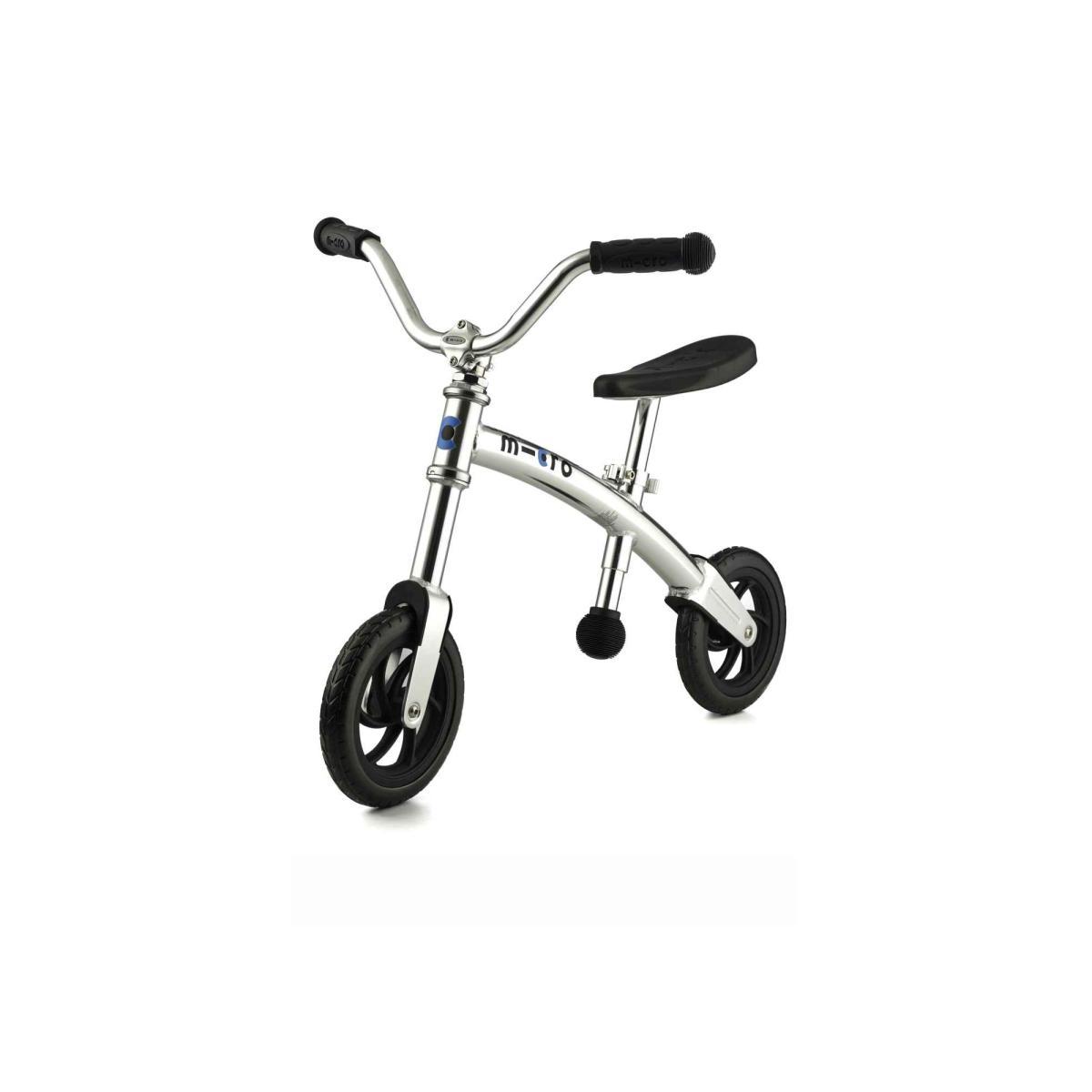 Odrážedlo Micro G-Bike Chopper Silver