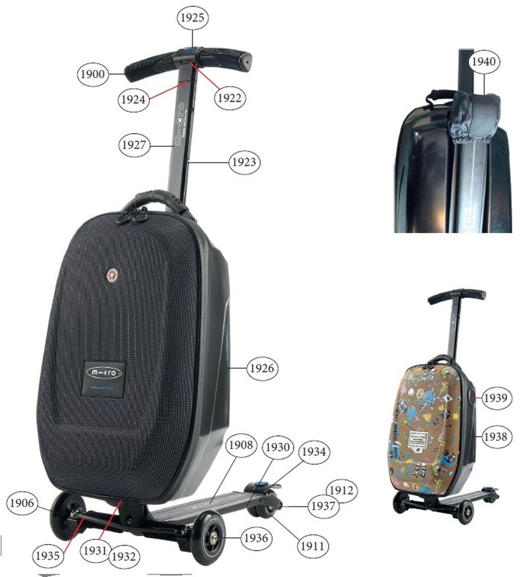 Díly - Díly pro Luggage