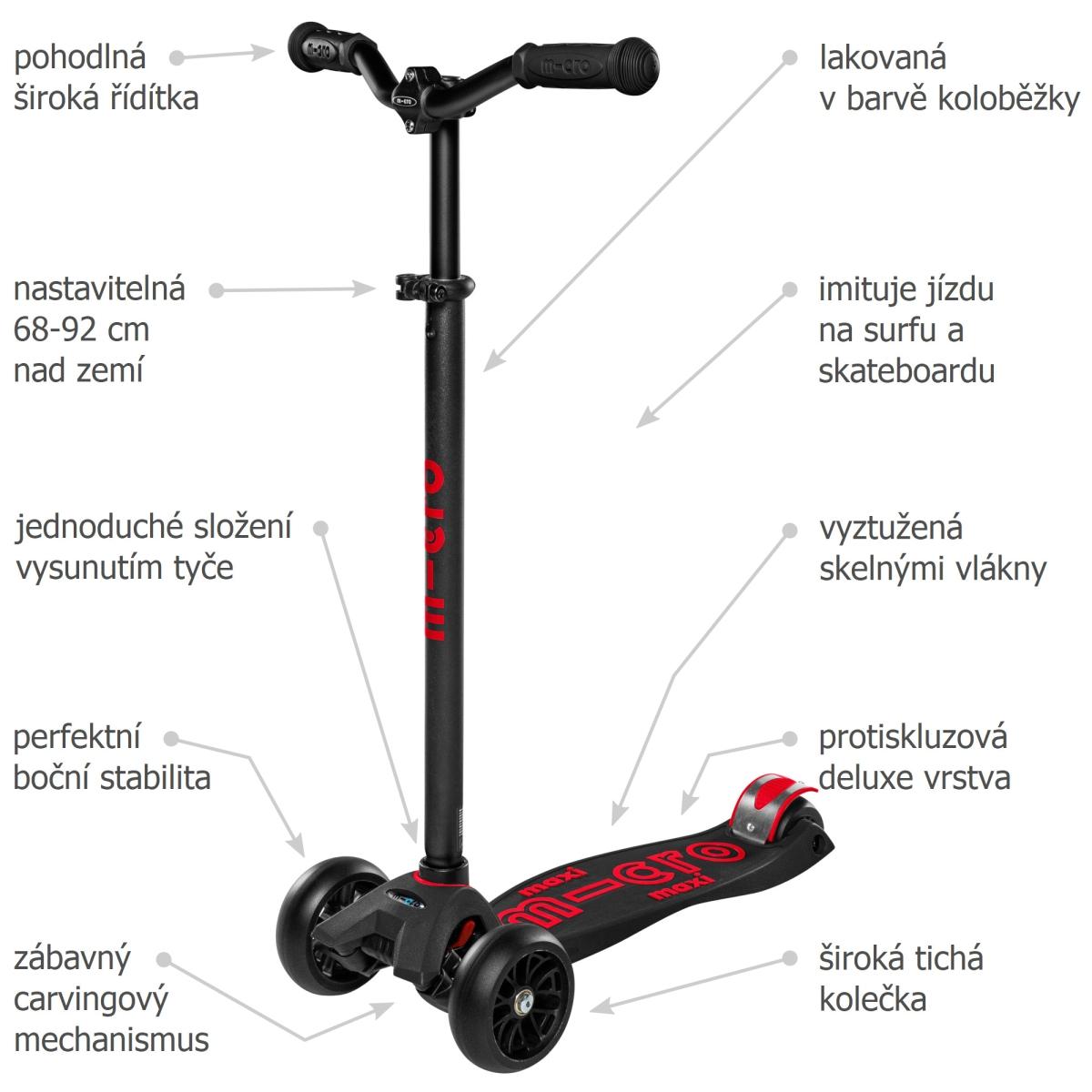 Maxi Micro Deluxe Pro black-red - 02