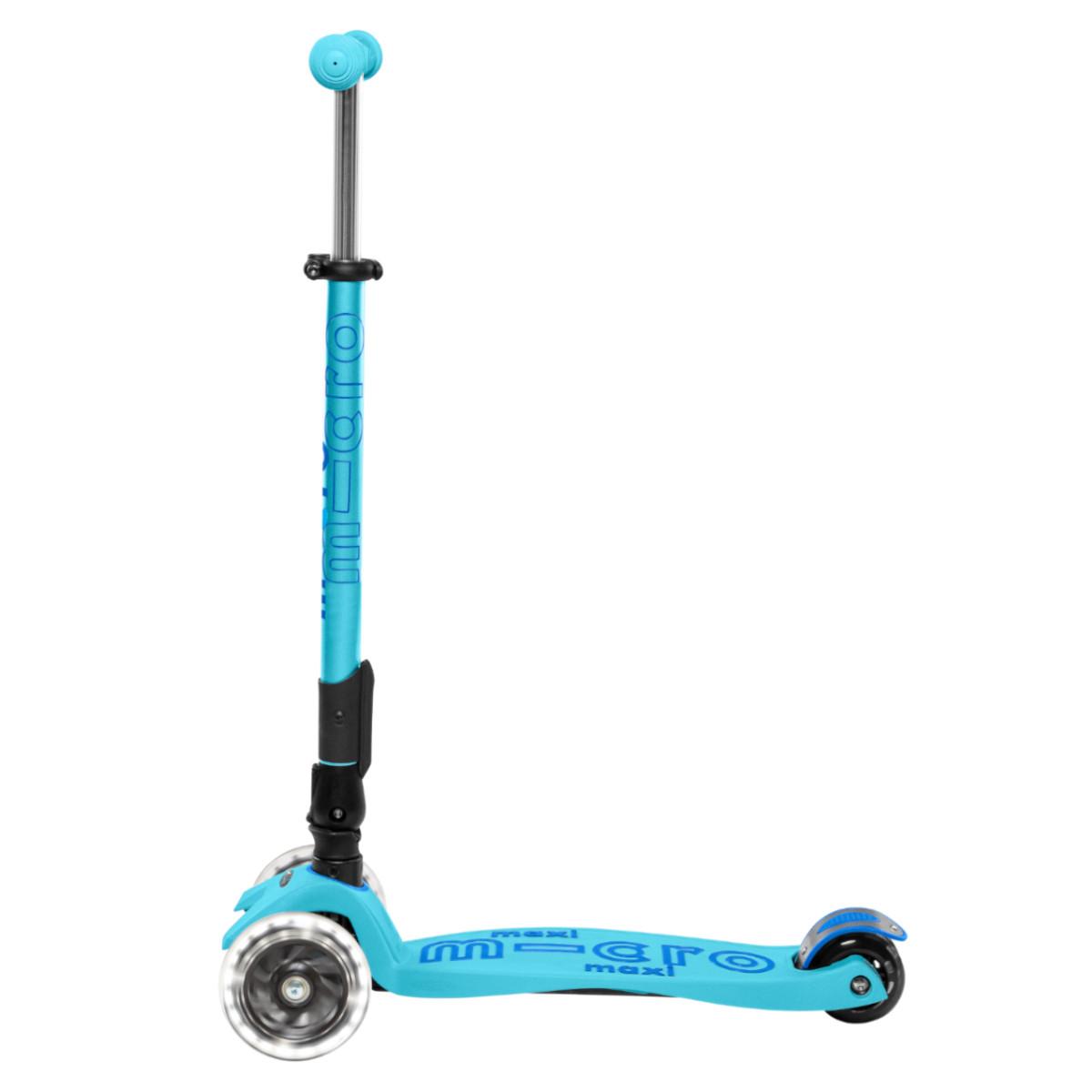 Maxi Micro Deluxe skládací - bright blue LED - 05