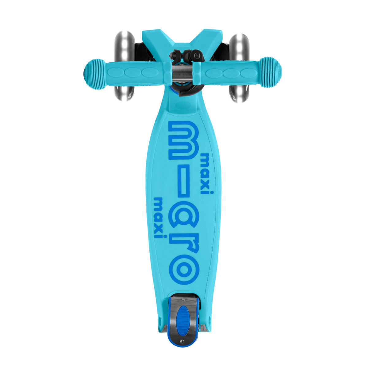 Maxi Micro Deluxe skládací - bright blue LED - 04