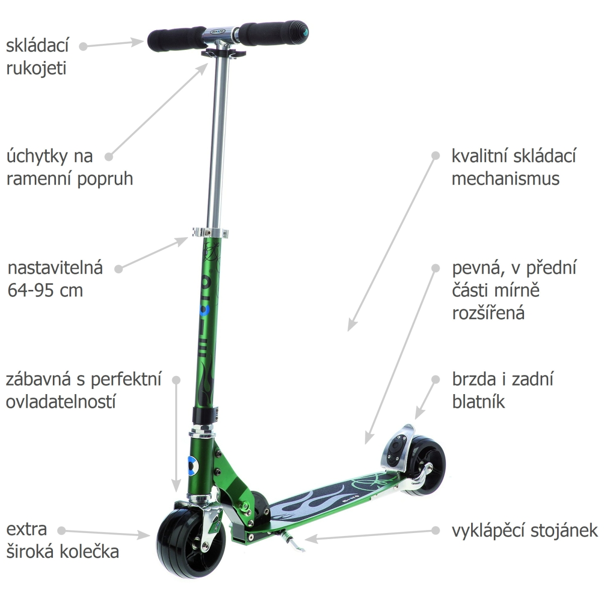 Micro Rocket Green - 02