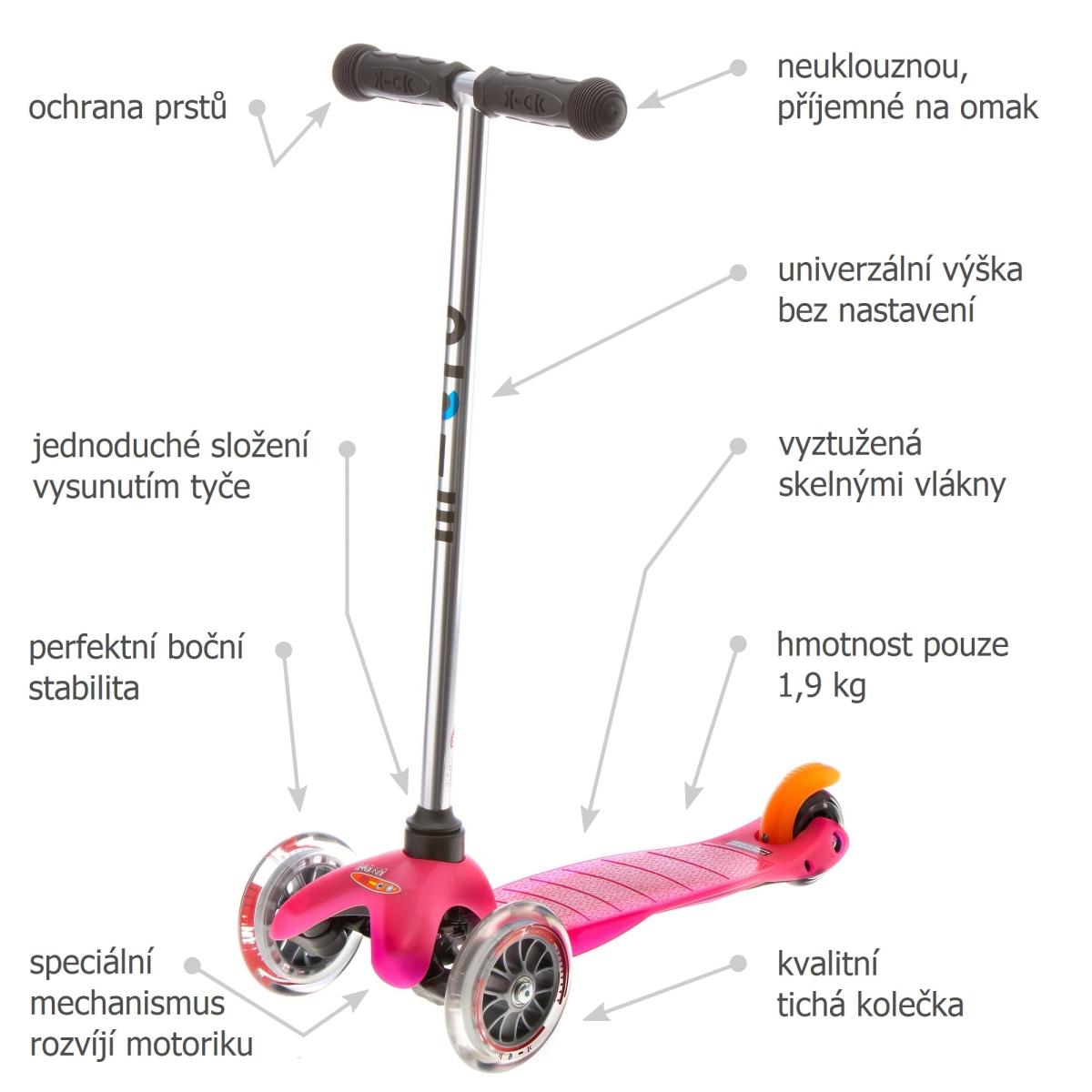 Mini Micro Classic Pink - 02