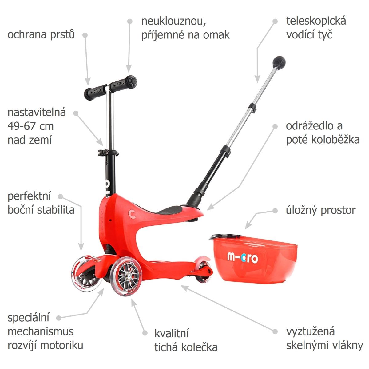 Micro Mini2go Deluxe Plus Red - 02