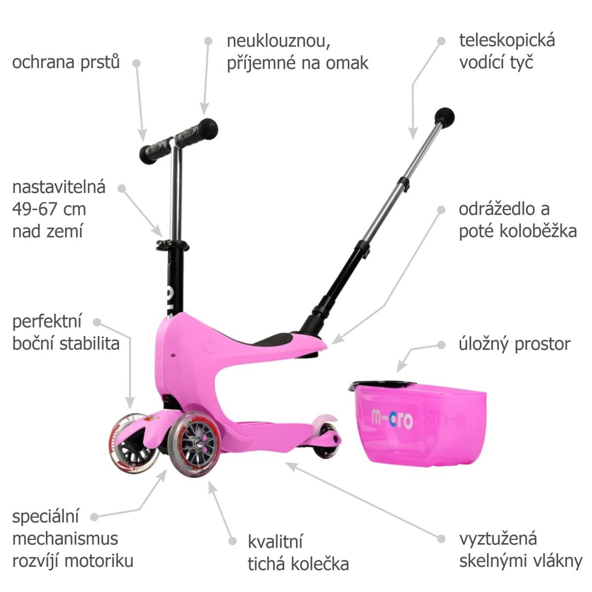 Micro Mini2go Deluxe Plus Pink - 02