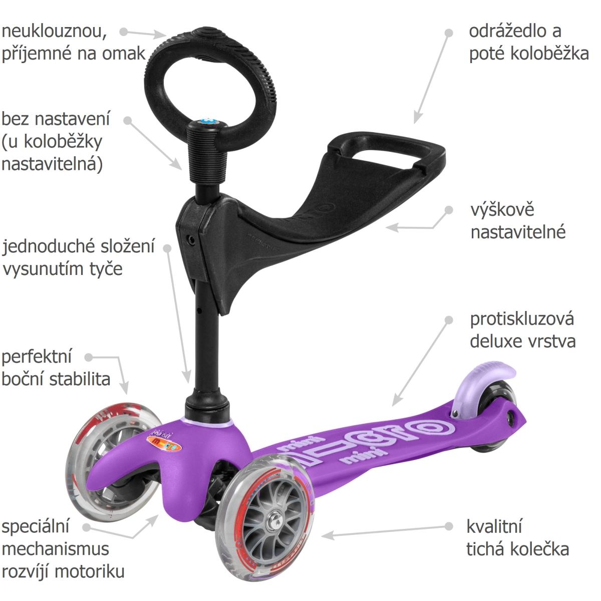 Mini Micro Deluxe 3v1 Purple - 02