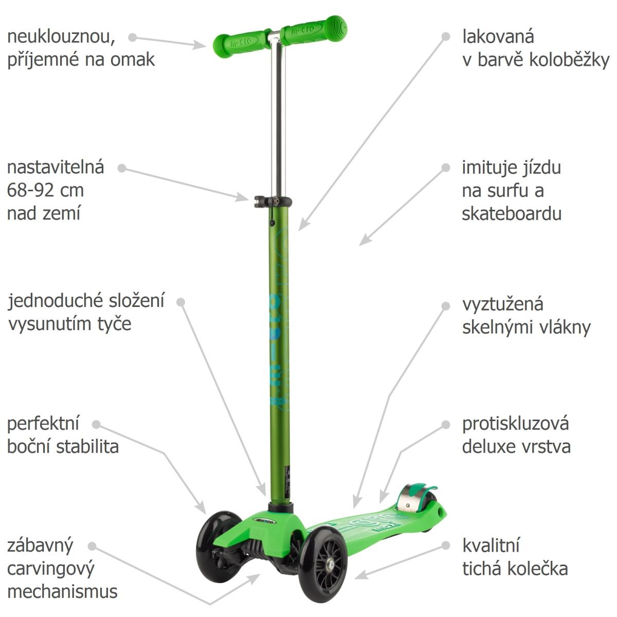 Maxi Micro Deluxe Green - 02