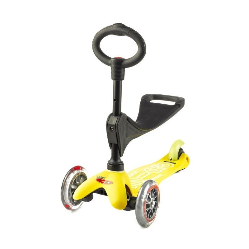 Mini micro Deluxe 3v1 Yellow - 03