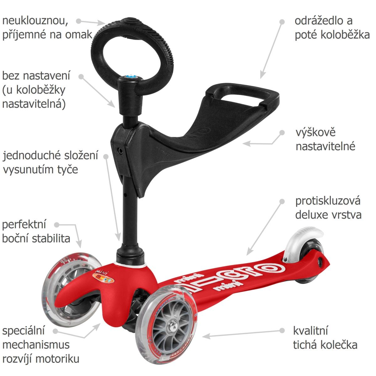 Mini Micro Deluxe 3v1 Red - 02