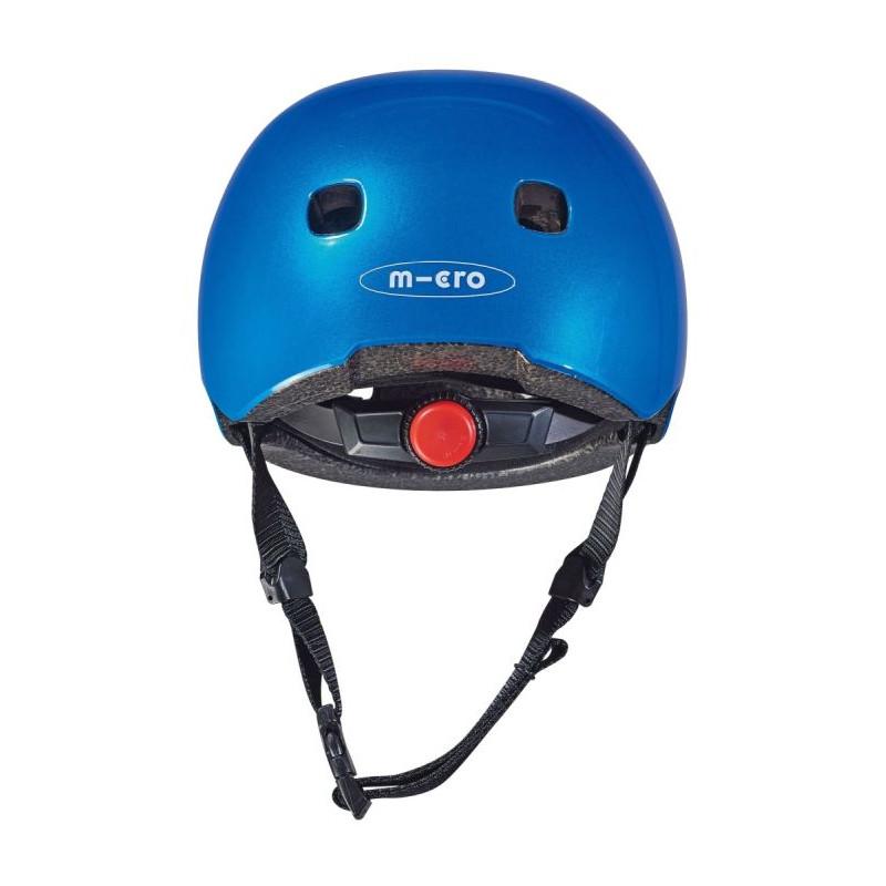 Přilba Micro LED Metalic Blue S (48-53 cm) - 03