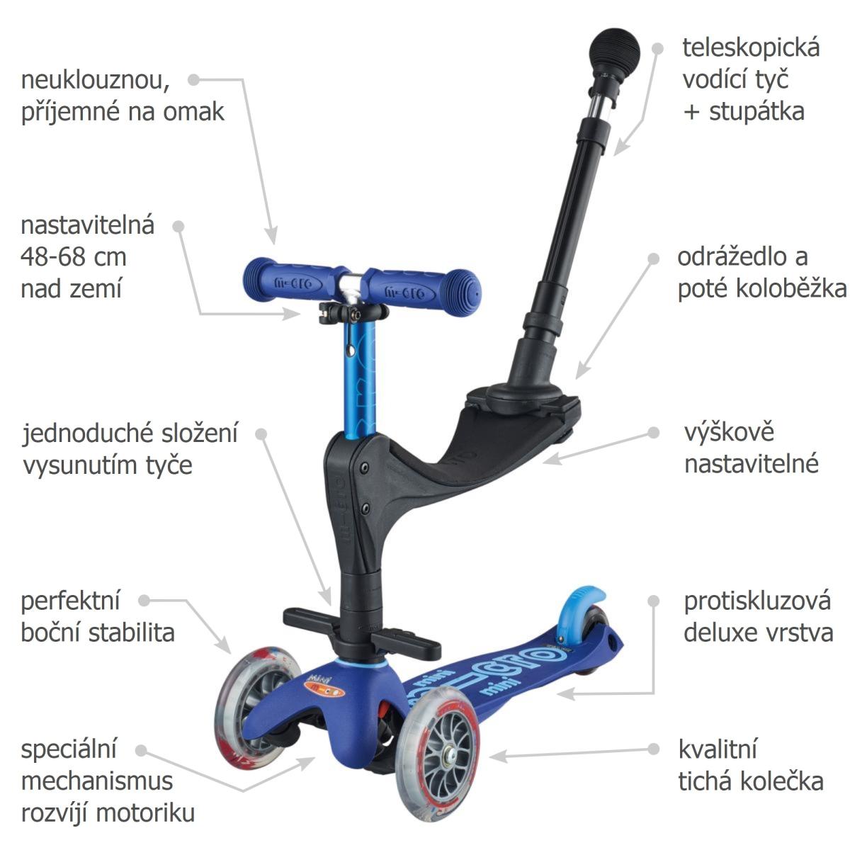 Mini Micro 3in1 Deluxe Plus Blue - 02