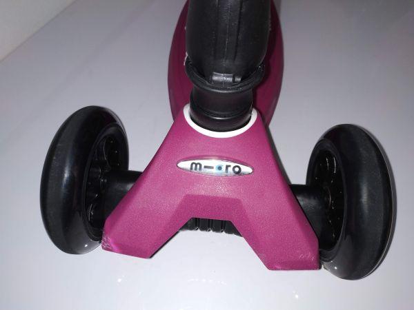 Maxi Micro Deluxe skládací - berry red - sleva - 07
