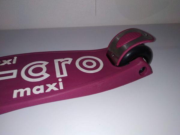 Maxi Micro Deluxe skládací - berry red - sleva - 03