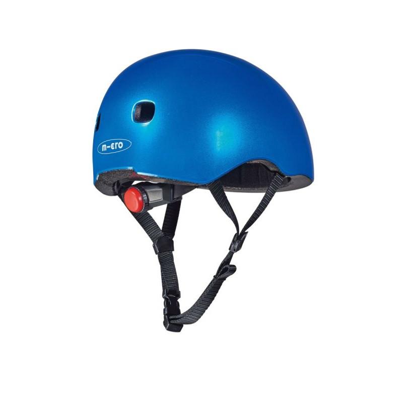 Přilba Micro LED Dark Blue M (52-56 cm) - 02