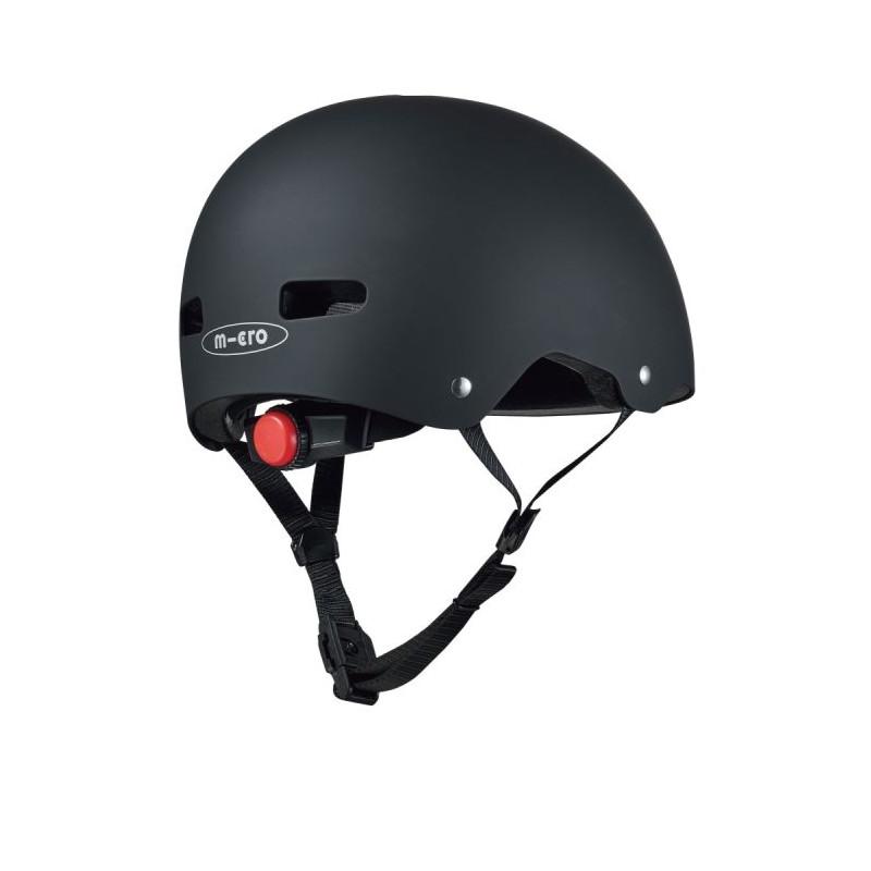 Přilba Micro LED Black V3 M (54-58 cm) - 02