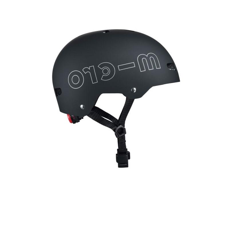 Přilba Micro LED Black V3 M (54-58 cm) - 04