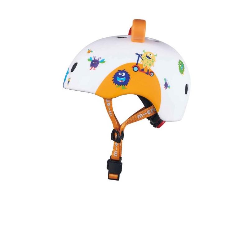 Přilba Micro LED 3D Monsters S (48-53 cm) - 03