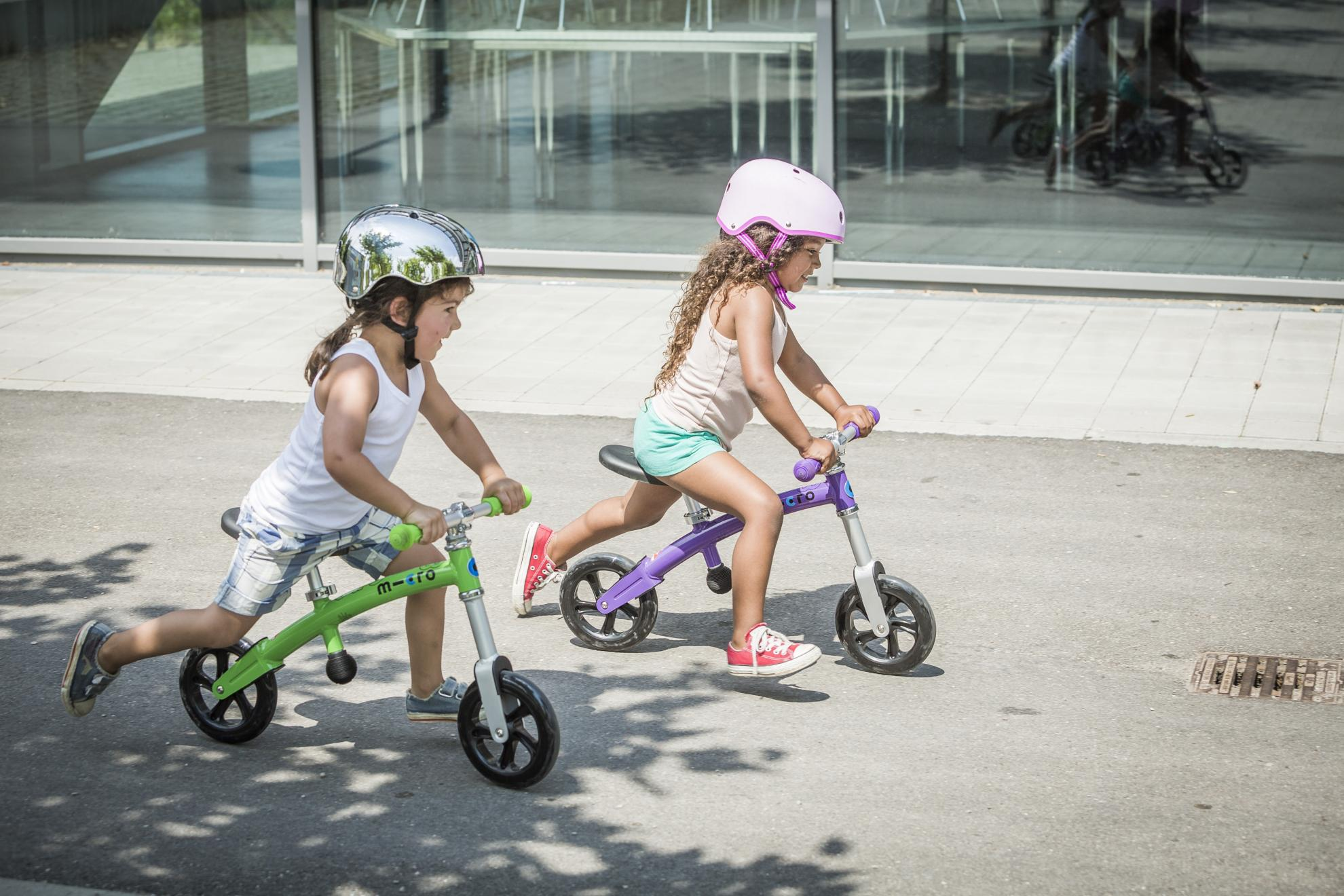 Akční obrázky Micro G-Bike Light Green